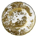 Royal Crown Derby Gold Aves Salad Plate
