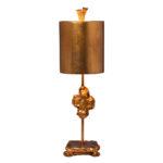 Flambeau Cross Lamp Gold