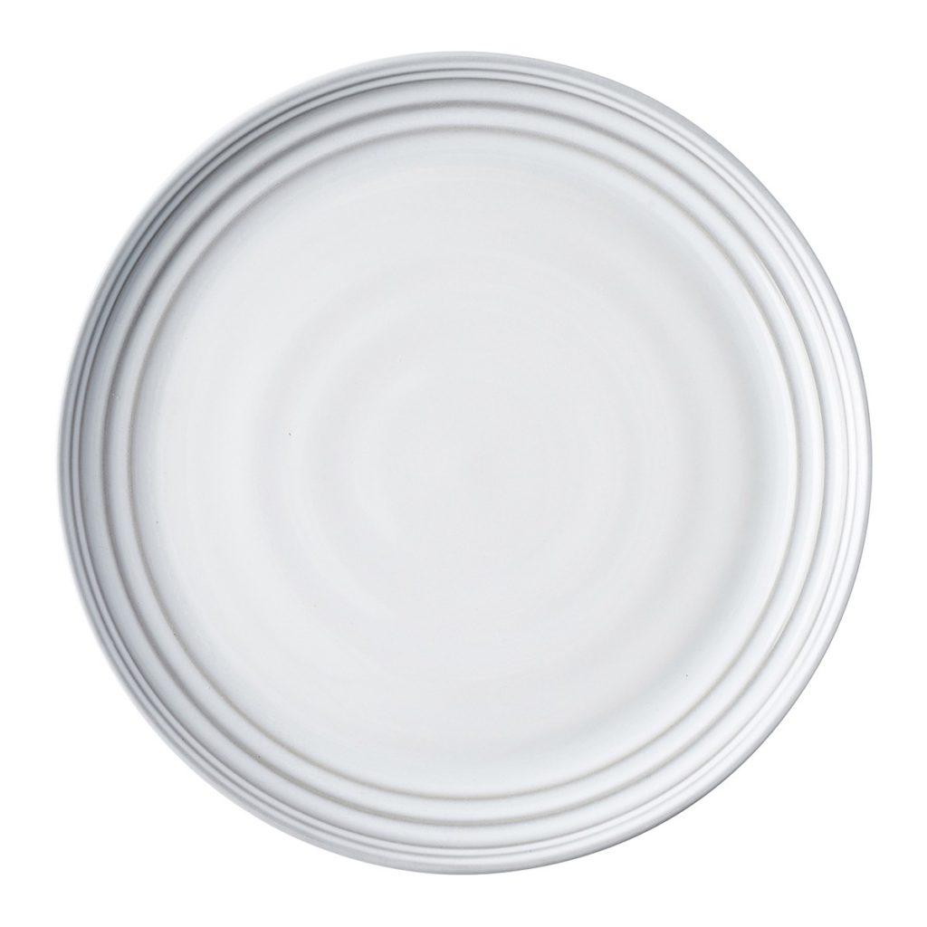 Juliska Bilbao White Truffle Dinner Plate