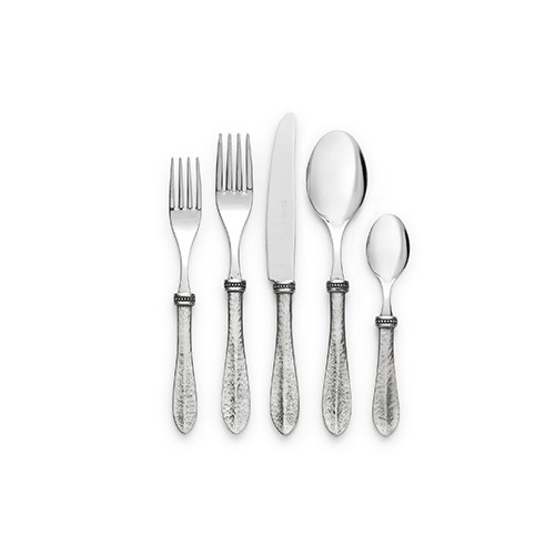 Arte Italica Bella Bianca 5pc Place Setting