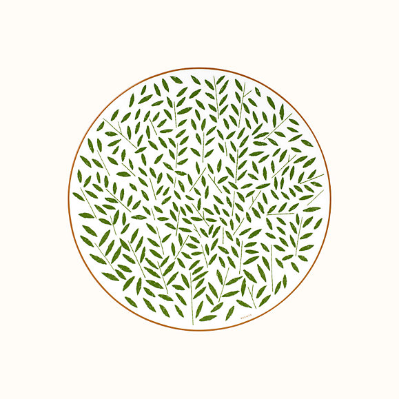Hermes A Walk In The Garden Dinner Plate