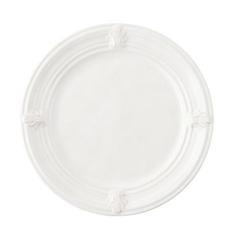 Juliska Acanthus Whitewash Dessert-Salad Plate