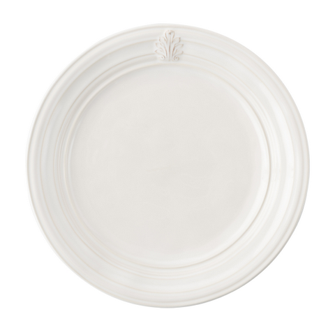 Juliska Acanthus Whitewash Dinner Plate
