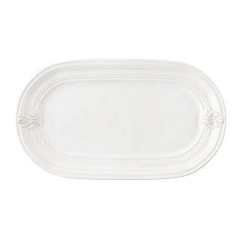 Juliska Acanthus Whitewash Hostess Tray