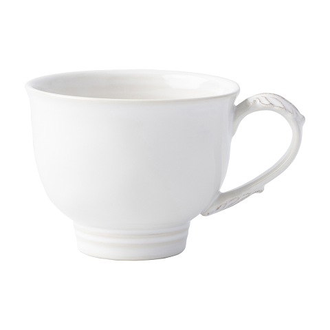 Juliska Acanthus Whitewash Tea-Coffee Cup