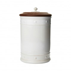 "Juliska B&T Whitewash 13"" Canister"