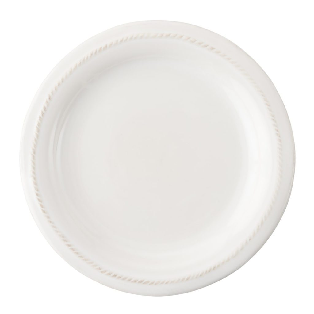Juliska B&T Whitewash Cocktail Plate