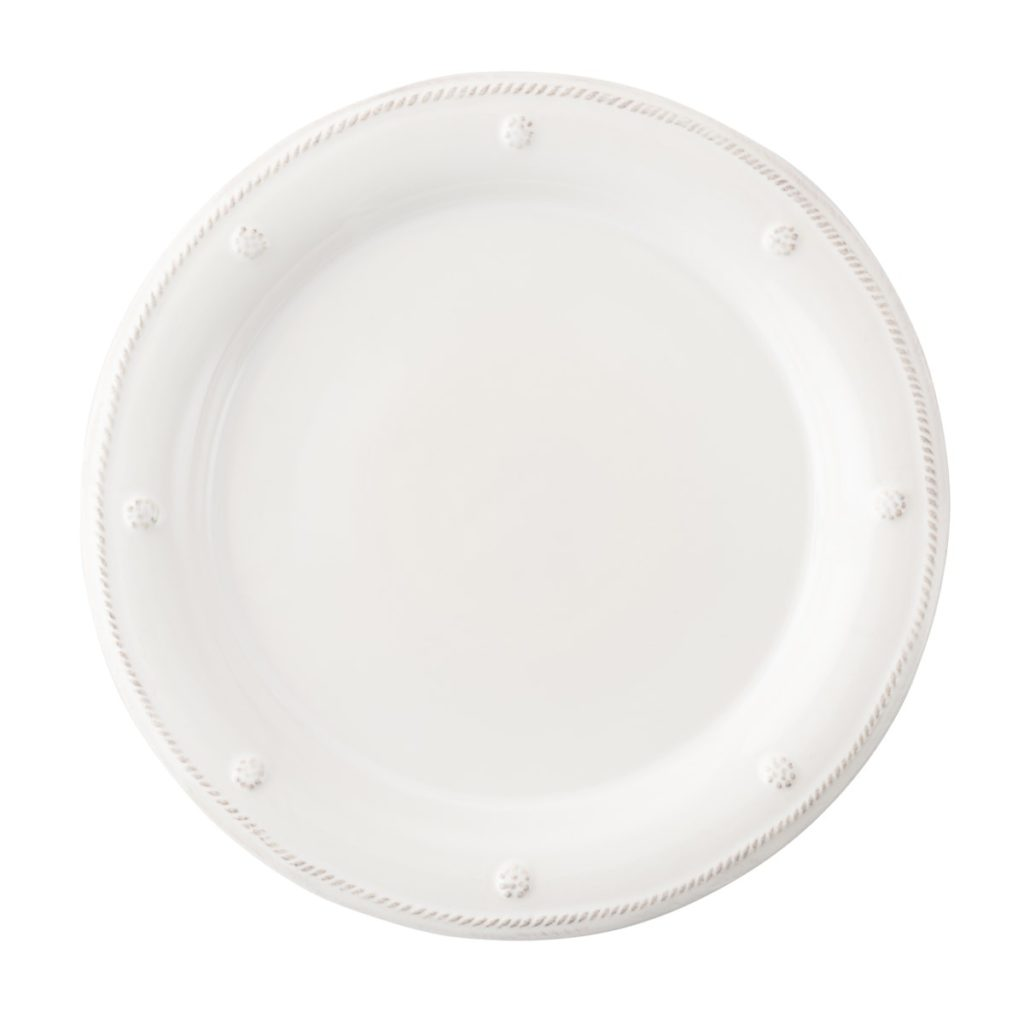 Juliska B&T Whitewash Round Dinner Plate