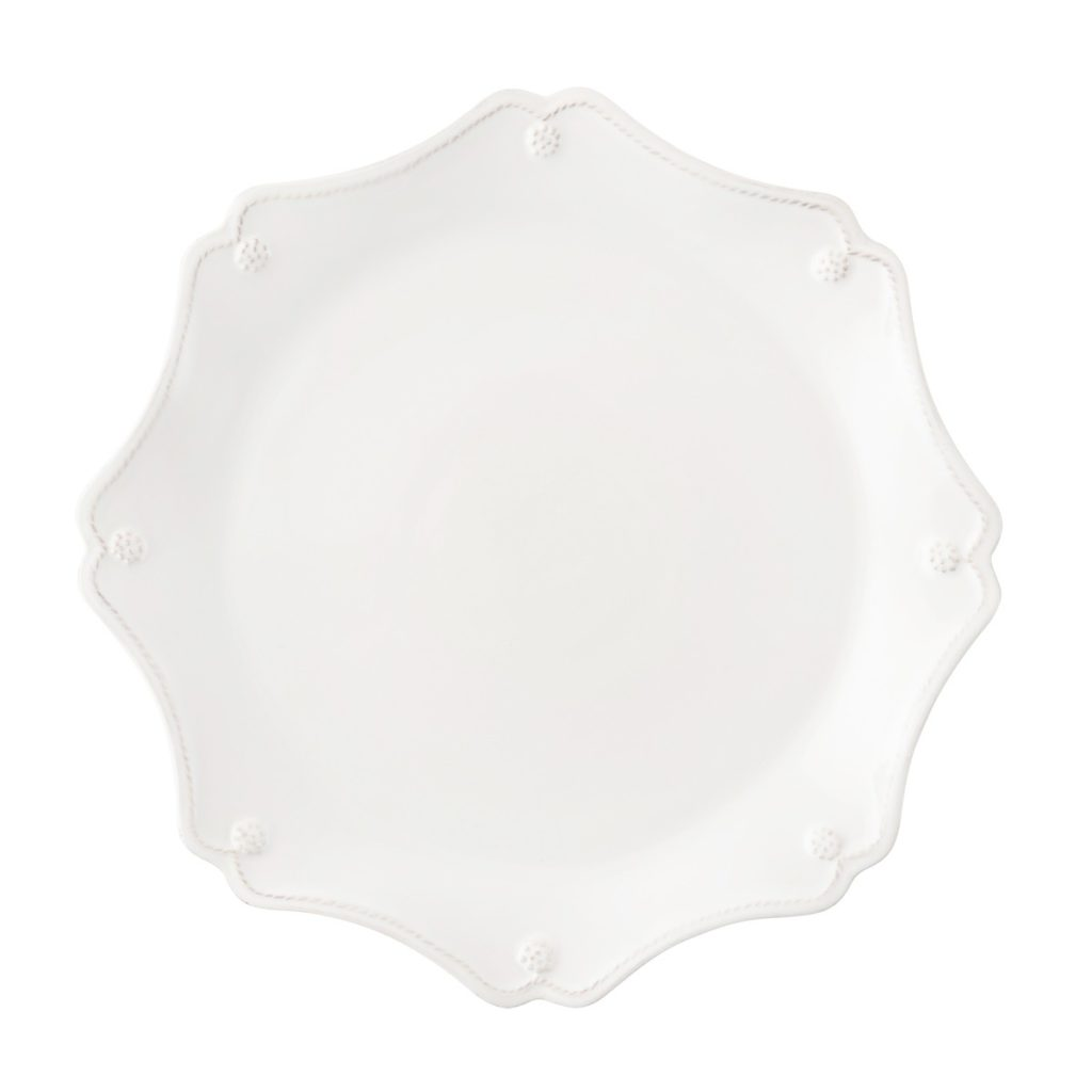 Juliska B&T Whitewash Scallop Charger