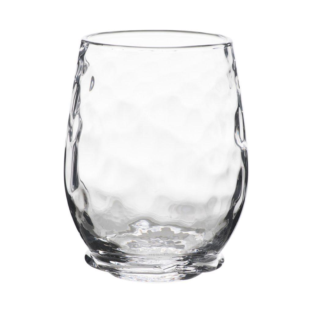 Juliska Carine Stemless White Wine Glass